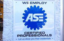 ASE Professionals | Shell Rapid Lube and Service Center