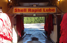 Car Wash - Shell Rapid Lube and Service Center