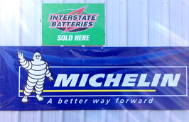 Michelin banner | Shell Rapid Lube and Service Center